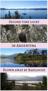 Second time lucky in Argentina Blown Away by Bariloche