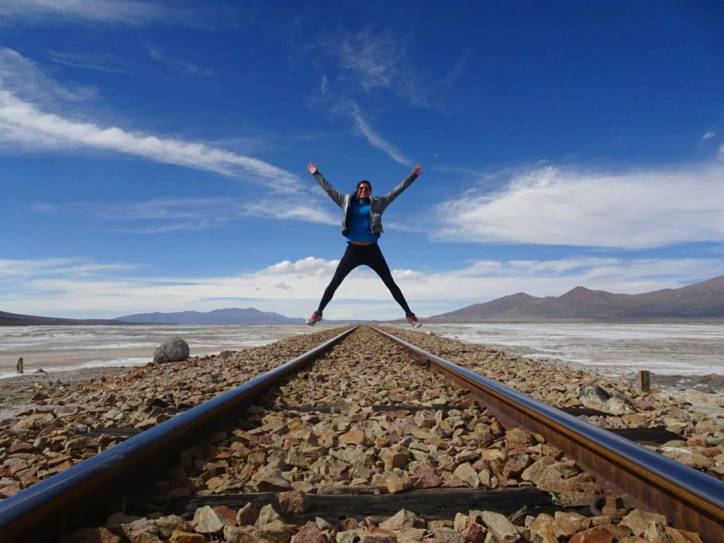 Old railway South Bolivia