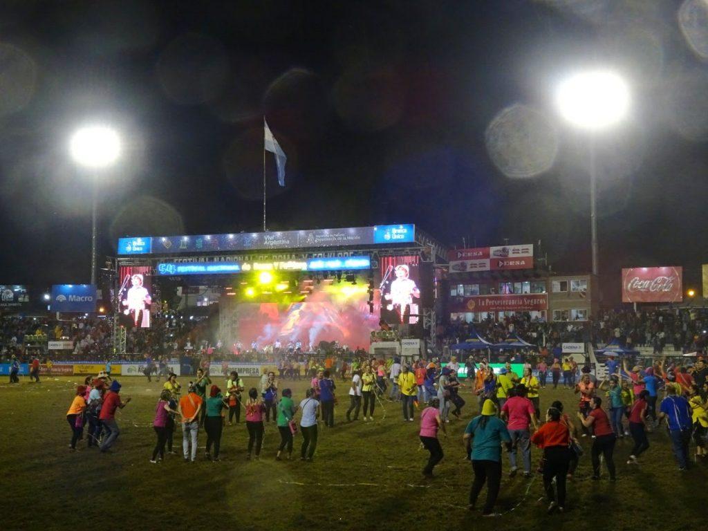 Folklore Dance Festival Cordoba Argentina