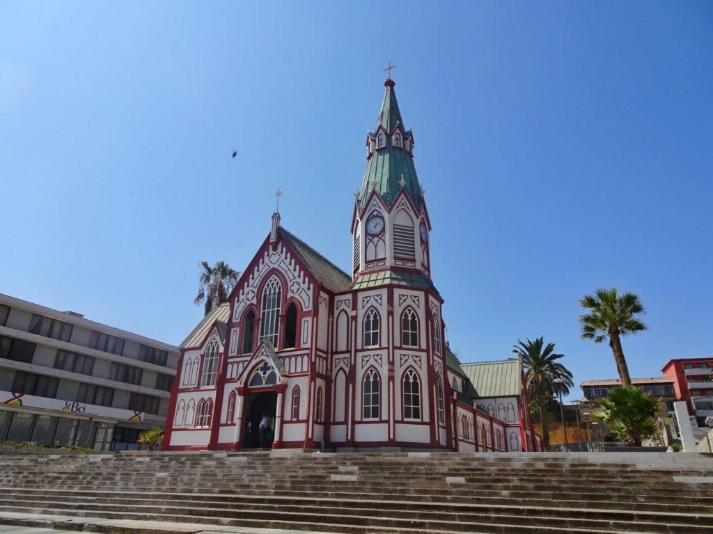 Arica church, North Chile