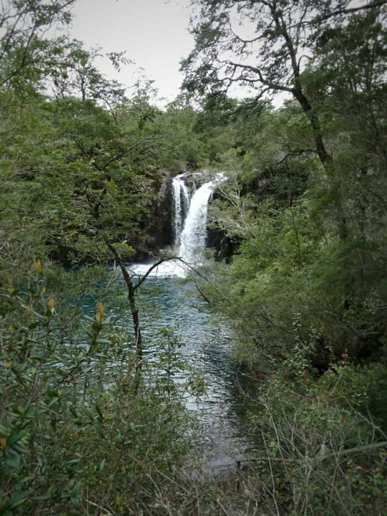 waterfall, Puerto Varas