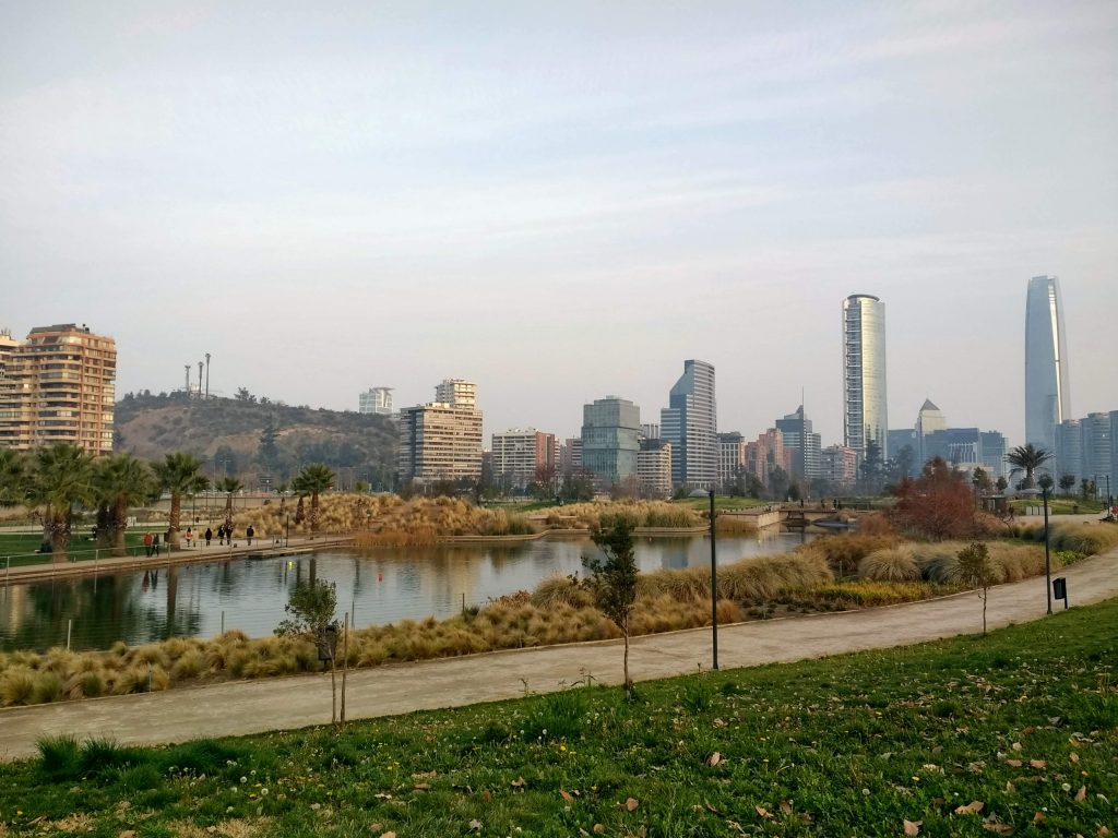 Parque Bicentenario, Santiago de Chile, Chile Working Holiday Review