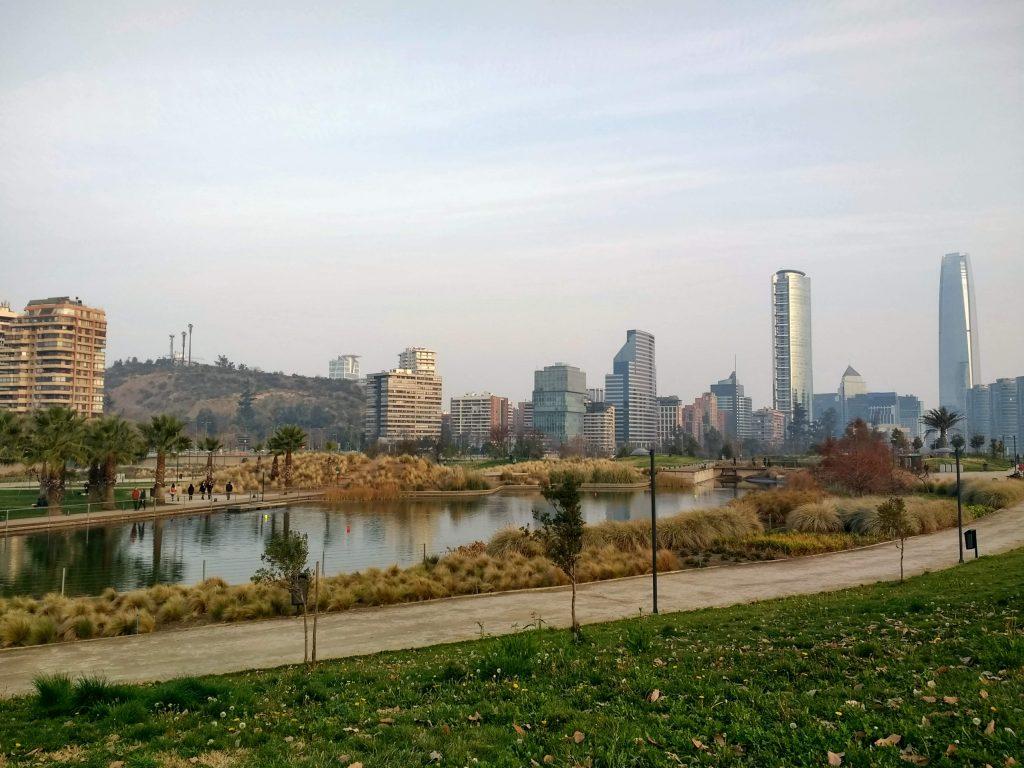 Parque Bicentenario, Santiago de Chile, Chile Working Holiday Review