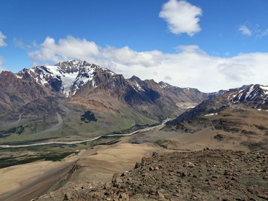 View from Loma del Pligue Tombado, El Chalten, Patagonia, Argentina