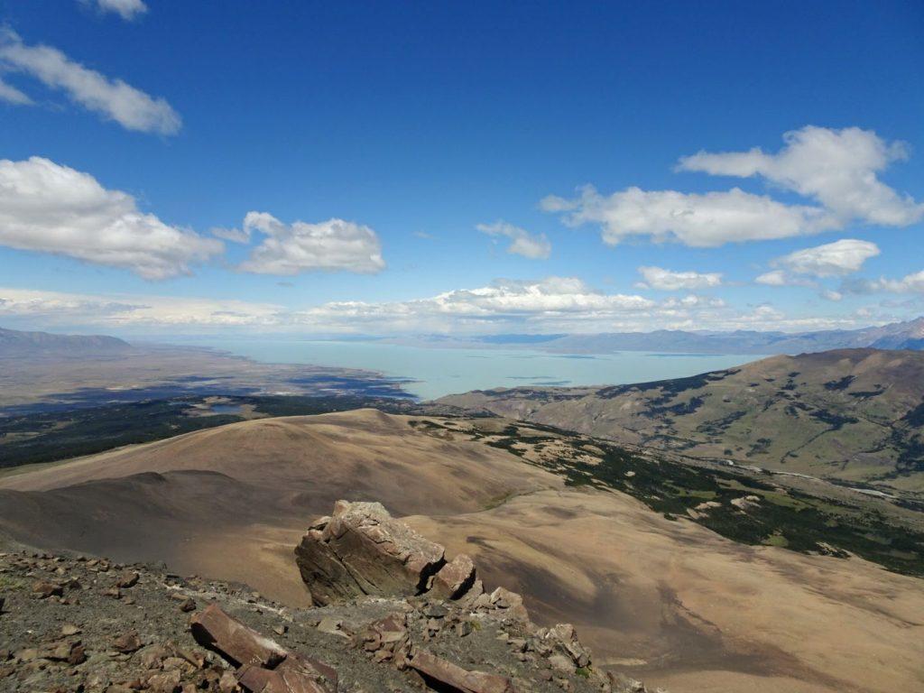 View from Loma del Pligue Tombado, El Chalten, Argentina