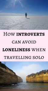How introverts can avoid loneliness when travelling solo