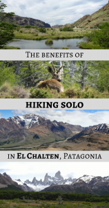 The benefits of hiking solo in El Chalten