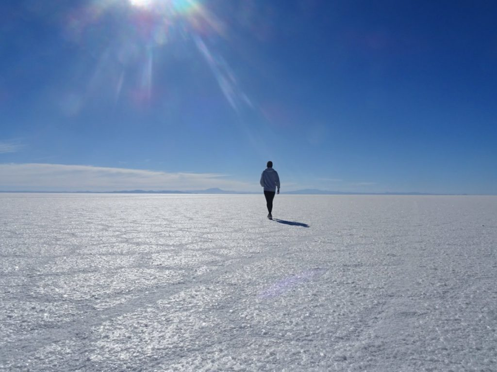 Salar de Uyuni, Bolivia - Lonelness when travelling solo