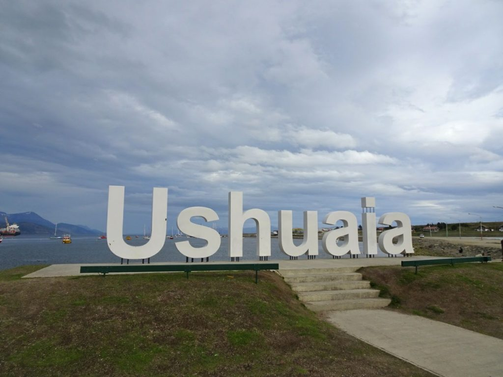 Ushuaia City Sign, Argentina