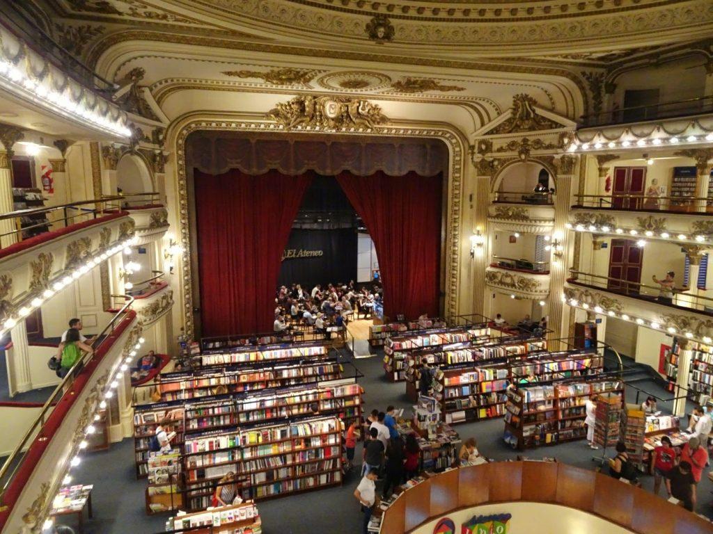 El Ateneo bookstore, Recoleta, BA