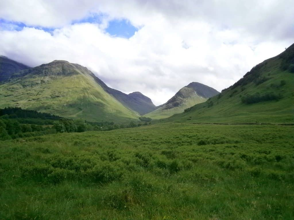 Glen Coe Scottish Highlands