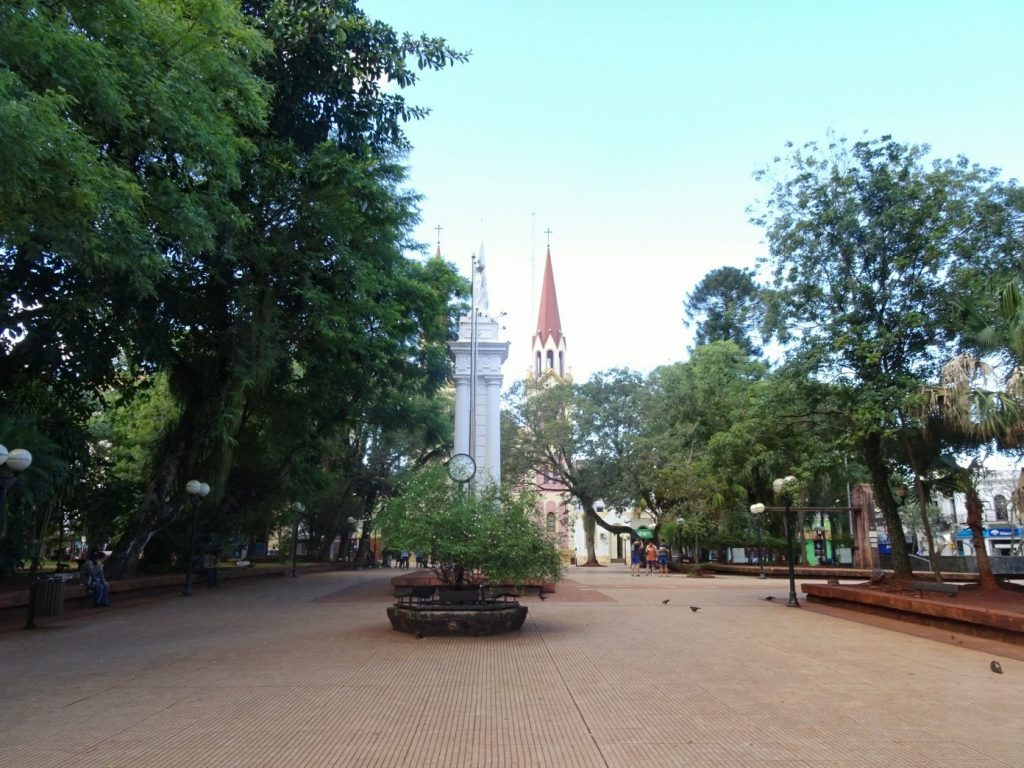 Posadas main square