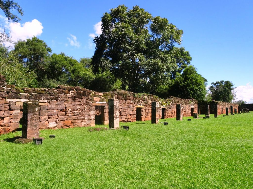 Ruins of Jesuit Mission San Ignacio Mini, Argentina