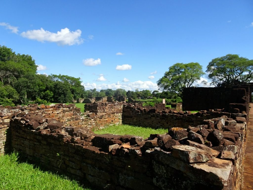 Ruins of former Jesuit mission