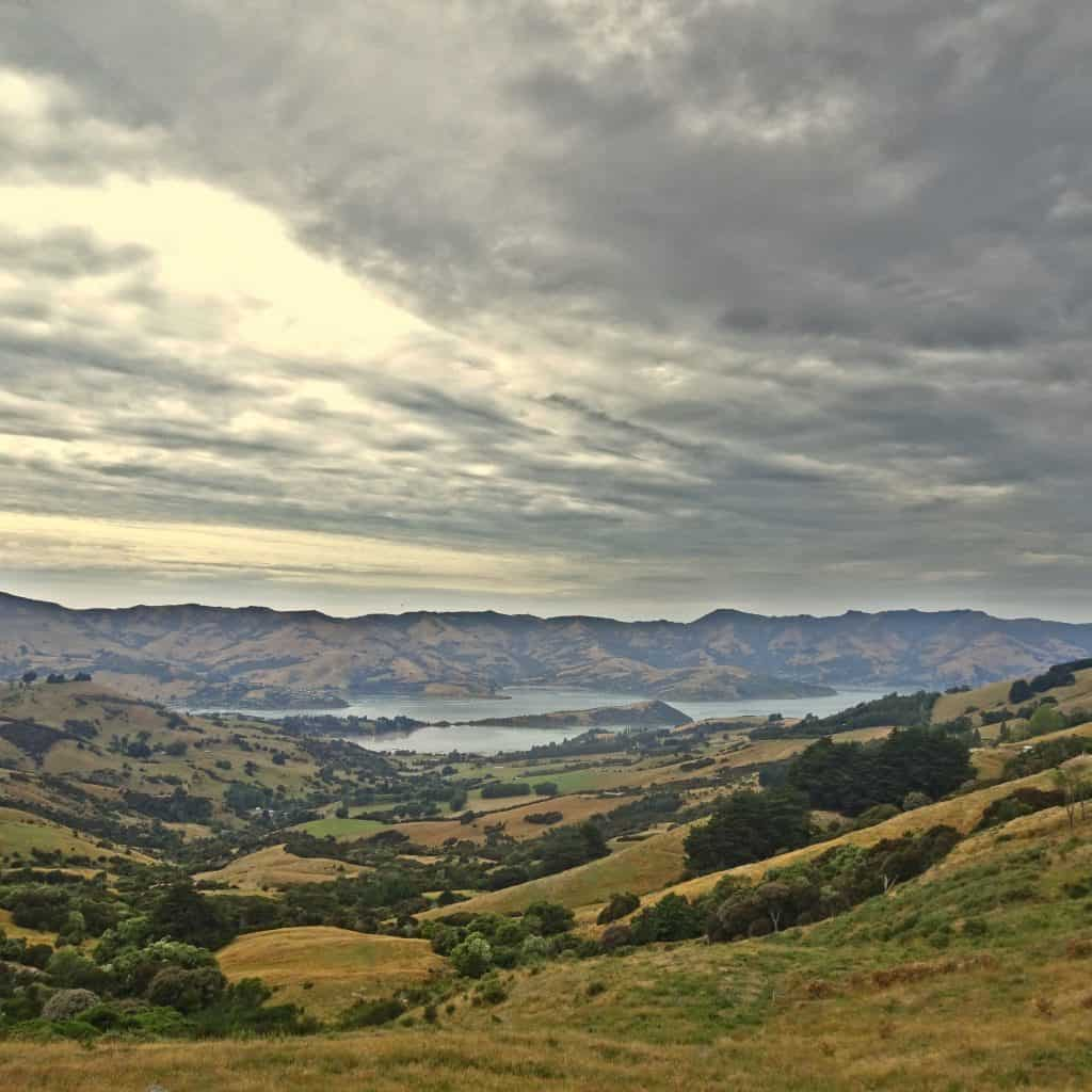Akaroa Banks Peninsula New Zealand