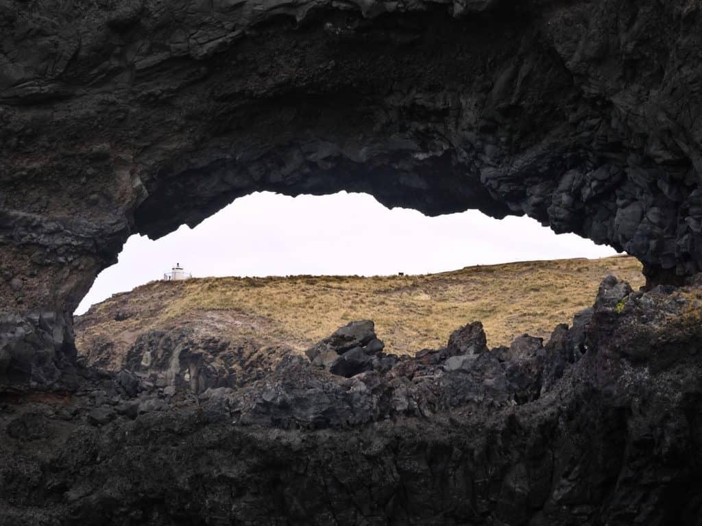Hole in the Rock Akaroa Banks Peninsula New Zealand
