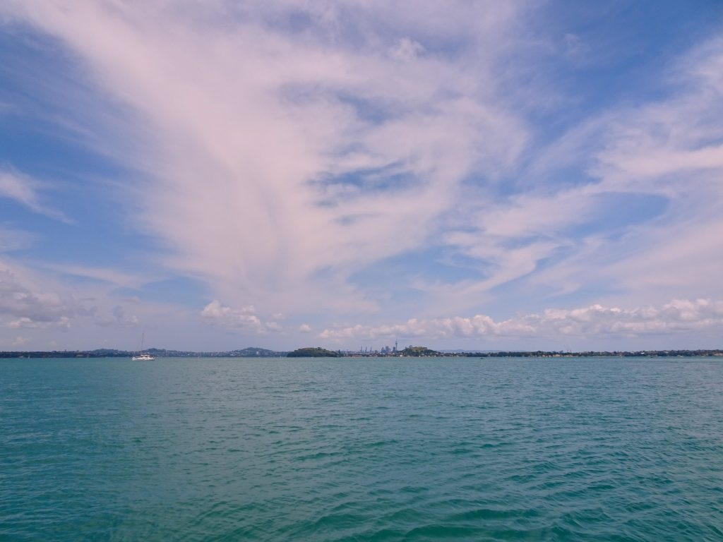 Auckland skyline from the water