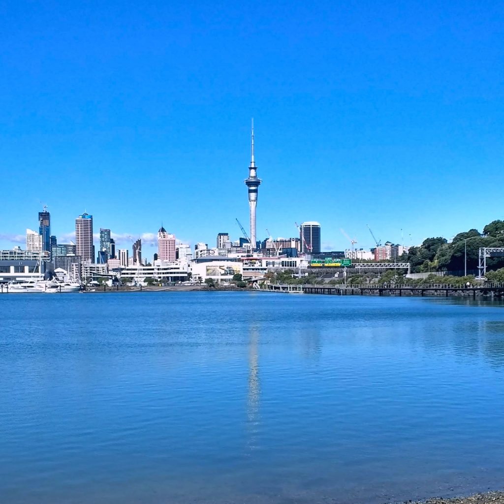 Auckland Skyline with Skytower