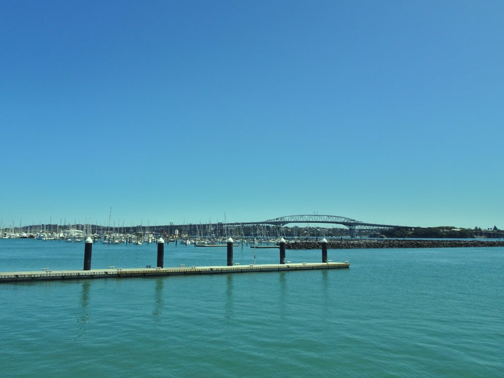 View of Auckland Harbour Bridge