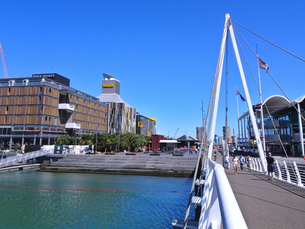 Auckland Harbour Pedestrian Bridge