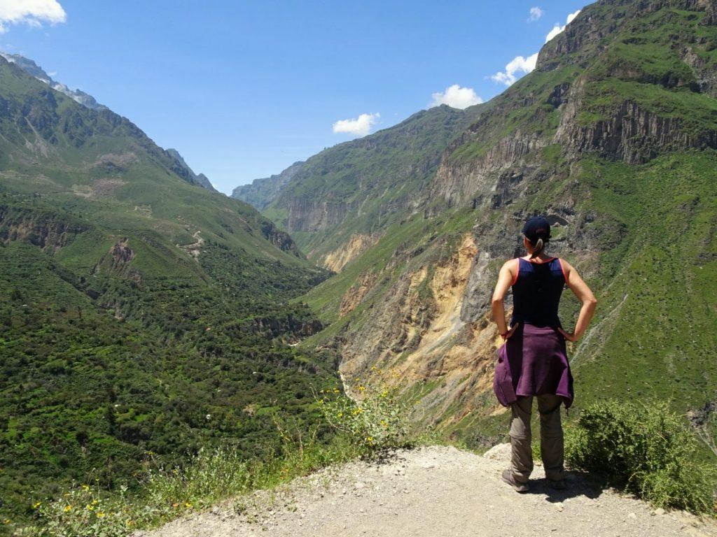 Hiking Colca Canyon Peru South America