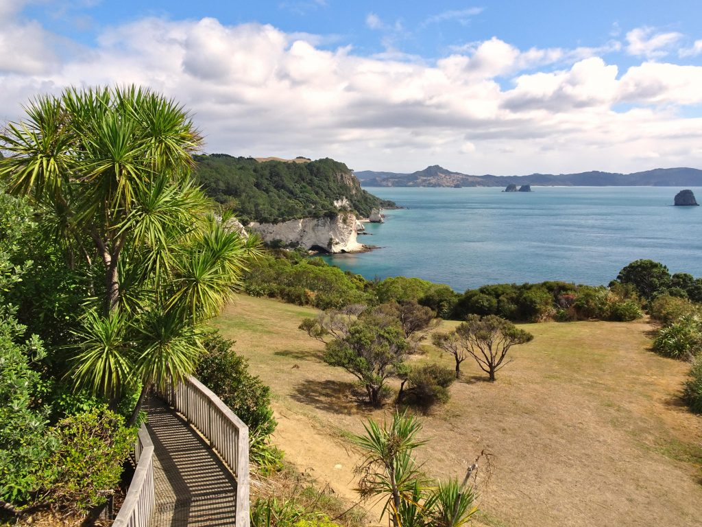 Cathedral Cove lookout, Hahei, New Zealand