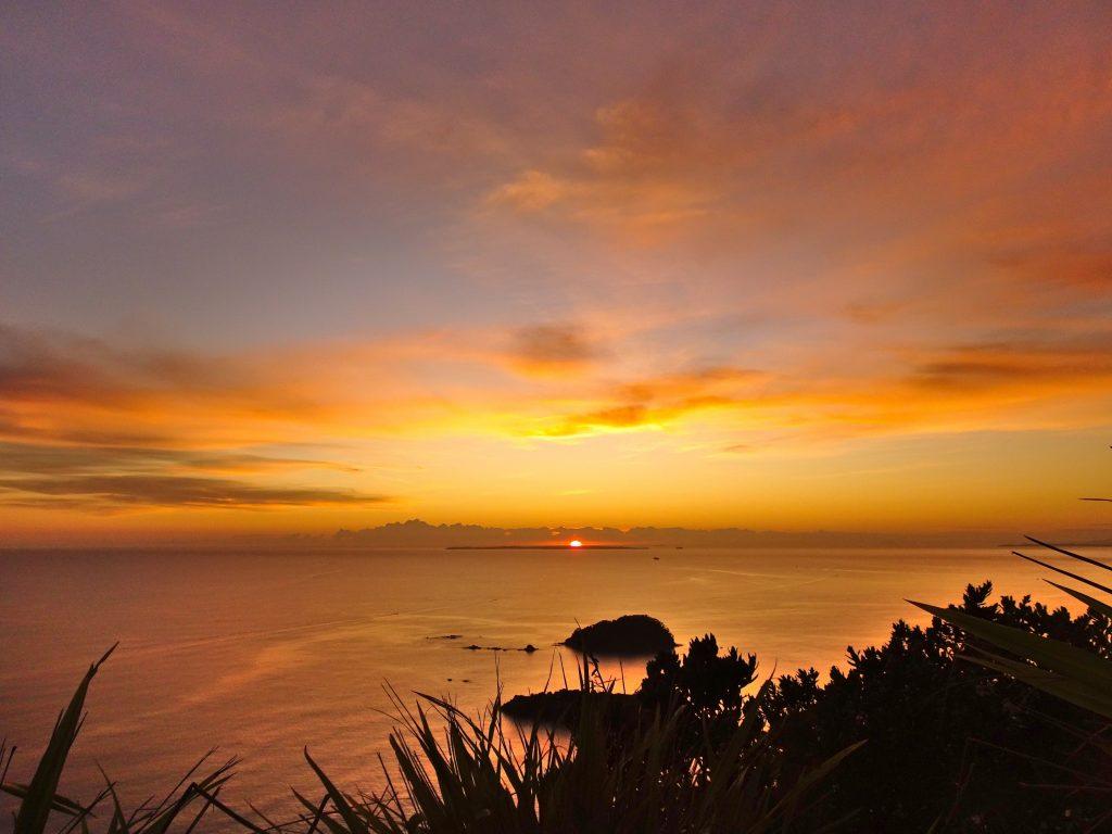 Sunrise at Mt Manganui, Tauranga, New Zealand