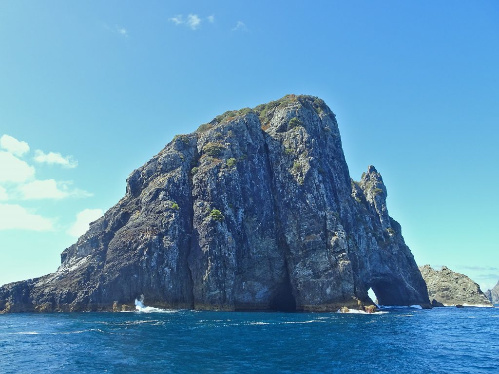 Hole in the Rock, Bay of Islands, New Zealand