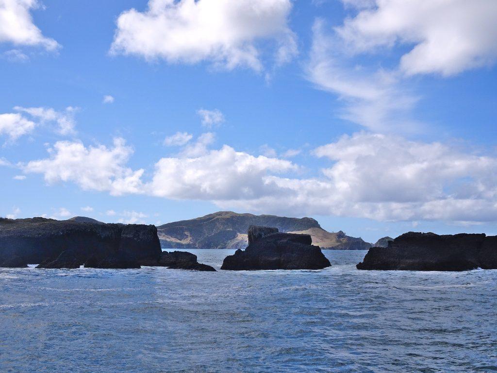Rocks in the Bay of Islands, New Zealand