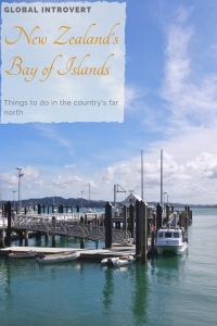 Bay of Islands New Zealand's northern paradise Pin