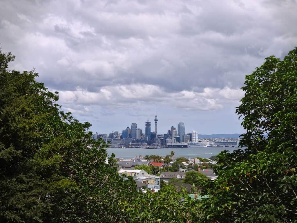 Auckland skyline from Mt. Victoria, Devonport