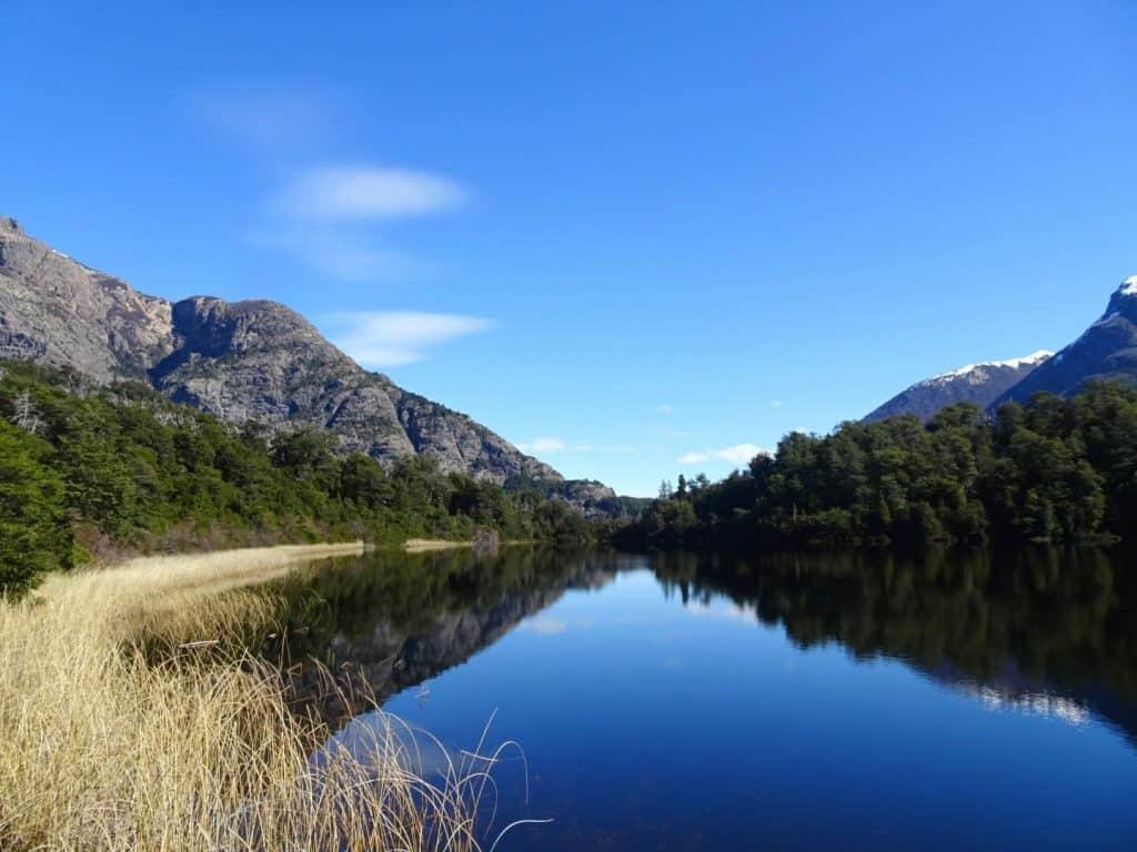 Mountain lake in Bariloche, Patagonia, Argentina