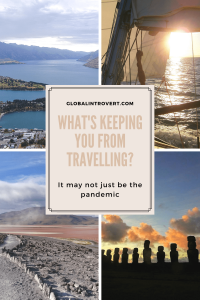 What's keeping you from travellling Pinterest