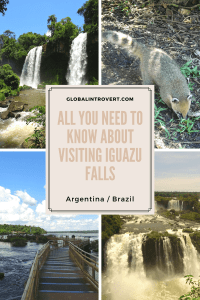All you need to know about visiting Iguazu Falls Pin